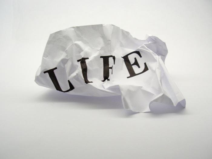 Законы жизни