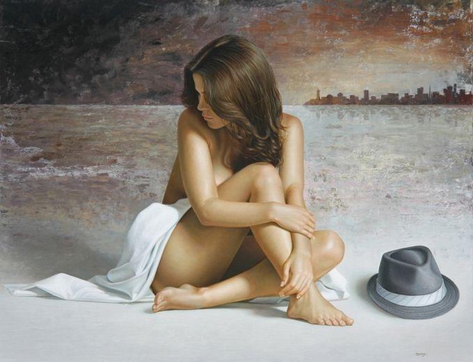 Фото голый человек девушка прощения