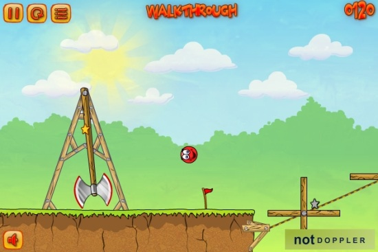 Приключения красного шарика