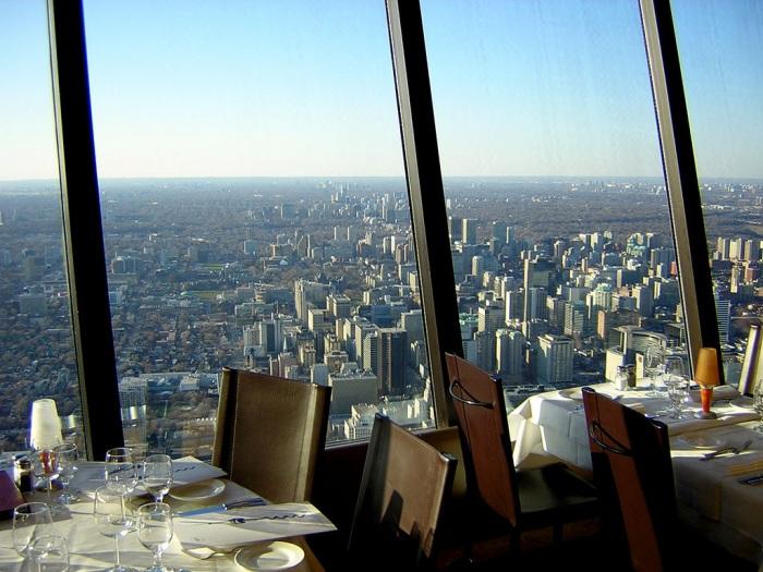 Самые живописные рестораны в мире