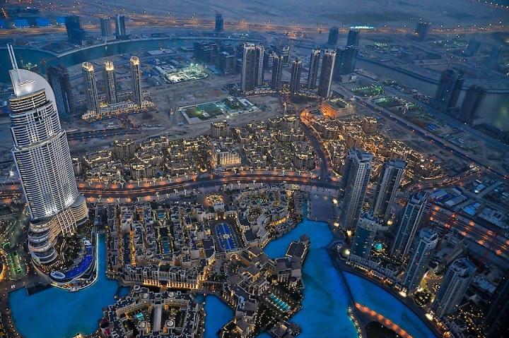 Дубаи сверху