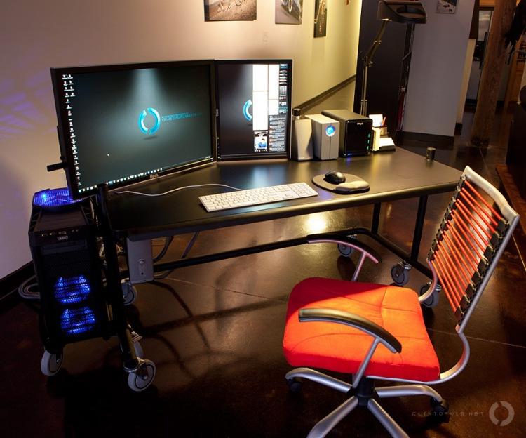 Рабочее место для компьютера