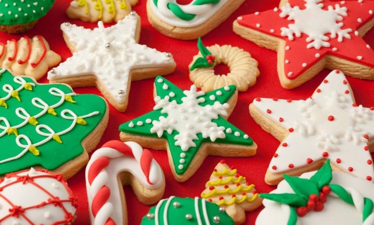 Рецепты глазури для новогоднего печенья