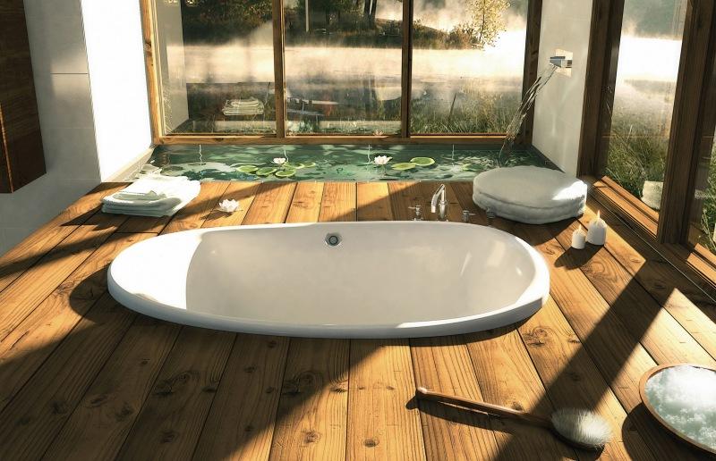 Оригинальные идеи оформления ванных комнта