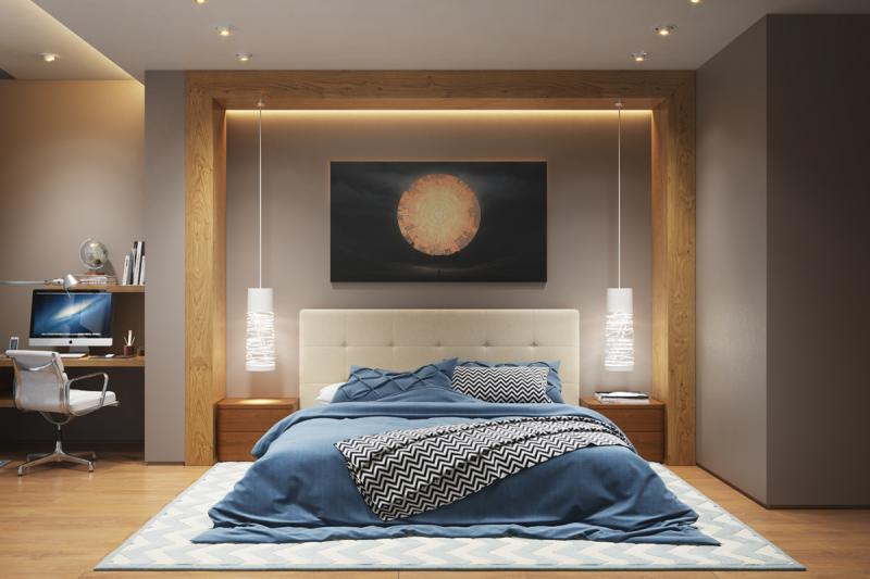 Идеи освещения спальни