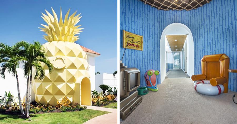 В Пунта-Кане открылся тематический отель для поклонников Губки Боба
