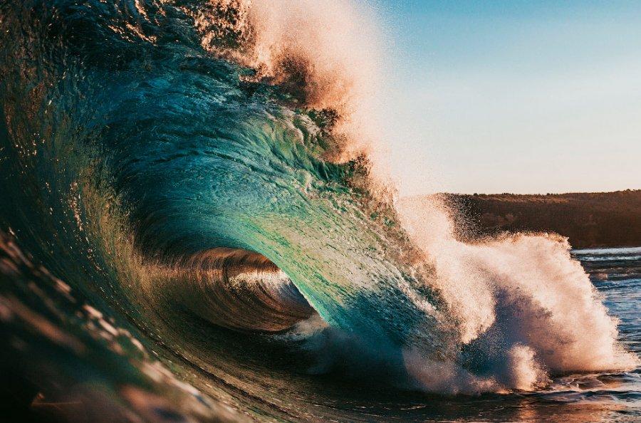 Красота волн в фотографиях