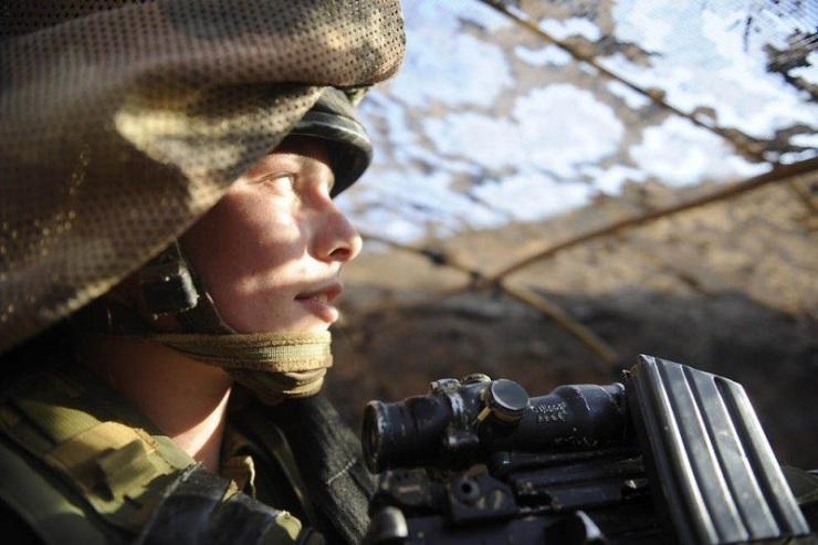 Симпатичные девушки армии Израиля