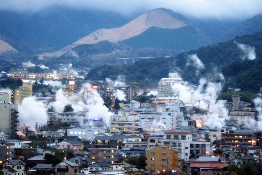 Жизнь на вулкане Беппу