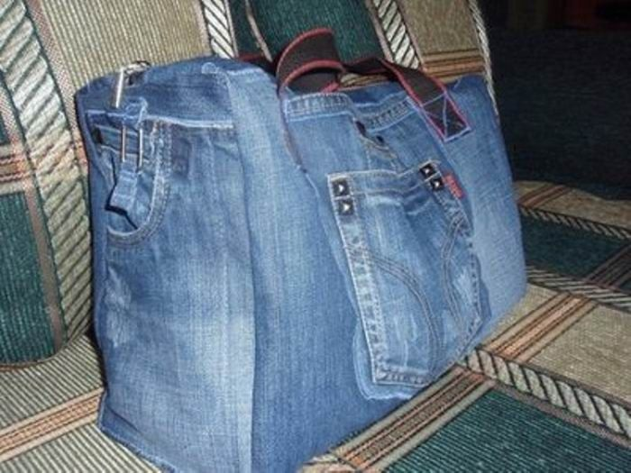 Сумки из старых джинсов своими руками фото и выкройки